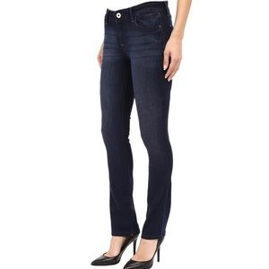 NWT DL1961 Grace High Rise Straight Stretch Jeans